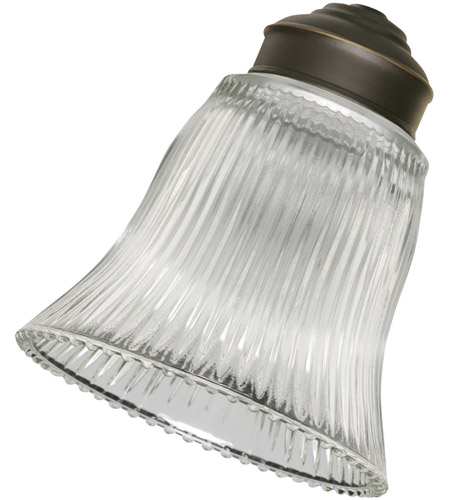 Emerson G26 Signature Clear Ribbed Glass Shade photo