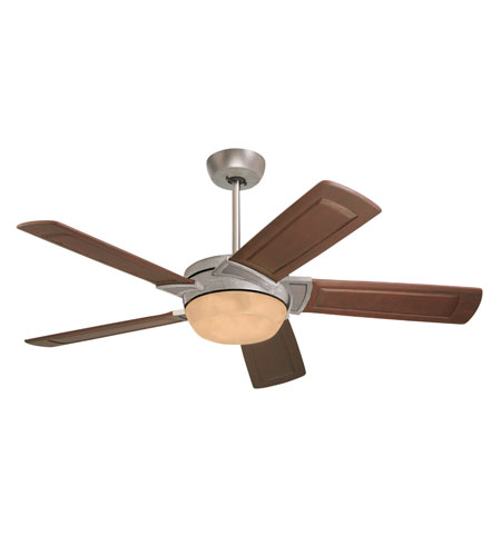 Emerson Fans Prado Tommy Bahama 3 Light Ceiling Fan in Antique Silver with Medium Antique Brown Blades TB310AS photo