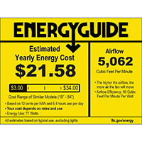 Emerson CF560GRT Duo 54 inch Graphite with Driftwood Blades Indoor Ceiling Fan