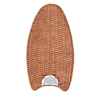 Emerson Fans Maui Bay Blade Fan Blades in Honey Pine Wicker (Set of 5) B20HP