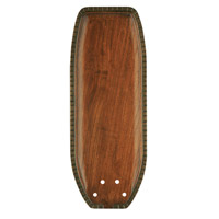 Emerson Fans Maui Bay Blade Fan Blades in Hand Carved - Walnut (Set of 5) B50HCW