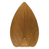 Emerson Fans 22in All-Weather Palm Leaf Fan Blades in Pecan (Set of 4) B83PCN