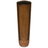 Signature Walnut 25 inch set of 5 Fan Blade