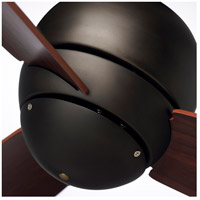 Emerson CF130ORB Tilo 30 inch Oil Rubbed Bronze with Dark Cherry Blades Indoor-Outdoor Ceiling Fan alternative photo thumbnail