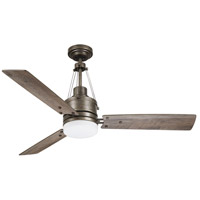 Emerson CF205LCVS Highpointe 54 inch Vintage Steel with Aged Cedar Blades Indoor Ceiling Fan