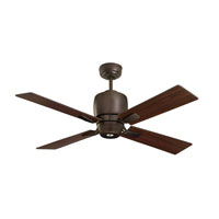 Emerson Fans Veloce 1 Light Ceiling Fan in Oil Rubbed Bronze with Oil Rubbed Bronze Blades CF230ORB