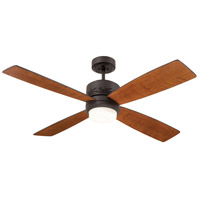 Highrise 50 inch Oil Rubbed Bronze with Natural Cherry/Dark Mahogany Blades Ceiling Fan