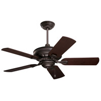 Bella 42 inch Oil Rubbed Bronze with Dark Mahogany/Walnut Blades Ceiling Fan