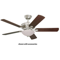 Emerson CF452BS Bella 52 inch Brushed Steel with Dark Cherry/Walnut Blades Ceiling Fan alternative photo thumbnail