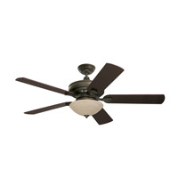 Emerson Ashton 3 Light Fan Glass in Golden Espresso LK90GES