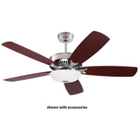 Premium Select 58 inch Brushed Steel Ceiling Fan, Blades Sold Separately