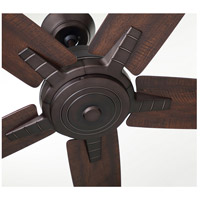 Emerson CF500TORB Euclid 56 inch Oil Rubbed Bronze with Tigerwood/Coffee Blades Indoor Ceiling Fan alternative photo thumbnail
