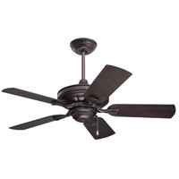 Emerson Fans 42in Carrera Veranda Ceiling Fan in Oil Rubbed Bronze with Oil Rubbed Bronze Blades CF542ORB
