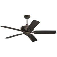 Veranda 52 inch Golden Espresso with All-Weather Golden Espresso Blades Indoor-Outdoor Ceiling Fan