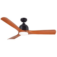 Emerson Volta LED Indoor Ceiling Fan in Barbeque Black CF590BQ