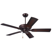 Emerson Fans Welland Outdoor Ceiling Fan in Venetian Bronze with Rustic Tropical Medium Antique Brown Blades CF610VNB