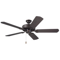 Summer Night 52 inch Oil Rubbed Bronze with All-Weather Oil Rubbed Bronze Blades Indoor-Outdoor Ceiling Fan