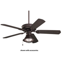 Sea Breeze 52 inch Oil Rubbed Bronze with All Weather Oil Rubbed Bronze Blades Indoor-Outdoor Ceiling Fan