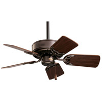 Northwind 29 inch Oil Rubbed Bronze with Dark Cherry/Walnut Blades Ceiling Fan