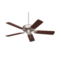 Emerson Fans 42in Northwind Ceiling Fan in Brushed Steel with Dark Cherry/Mahogany Blades CF704BS