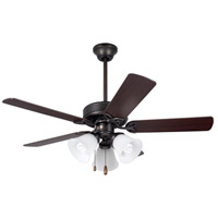 Emerson CF710ORB Pro Series 42 inch Oil Rubbed Bronze with Dark Cherry/Medium Oak Blades Ceiling Fan alternative photo thumbnail