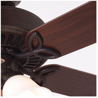 Emerson CF711ORB Pro Series 50 inch Oil Rubbed Bronze with Dark Cherry/Medium Oak Blades Ceiling Fan in Alabaster Swirl alternative photo thumbnail