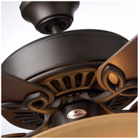Emerson CF712ORB Pro Series 50 inch Oil Rubbed Bronze with Dark Cherry/Medium Oak Blades Ceiling Fan in Amber Scavo alternative photo thumbnail