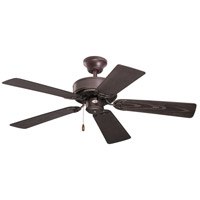 Summer Night 42 inch Oil Rubbed Bronze with All Weather Appl White Blades Indoor-Outdoor Ceiling Fan
