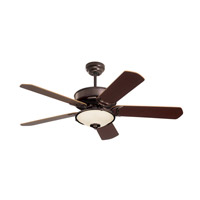Emerson CF755ORB Designer 52 inch Oil Rubbed Bronze with Medium Oak/Dark Cherry Blades Ceiling Fan alternative photo thumbnail