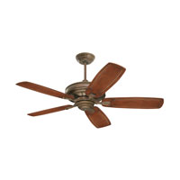 Carrera Grande Eco Gilded Bronze Indoor-Outdoor Ceiling Fan Motor, Blades Sold Separately