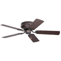 Snugger 42 inch Oil Rubbed Bronze with Dark Cherry/Medium Oak Blades Ceiling Fan