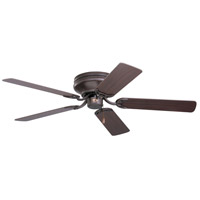 Emerson Fans 52in Snugger Ceiling Fan in Oil Rubbed Bronze with Dark Cherry/Medium Oak Blades CF805SORB