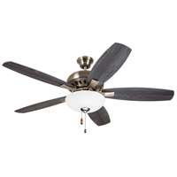 Emerson CF835AP DC Builder 52 inch Antique Pewter with Charcoal/Timber Gray Blades Indoor Ceiling Fan Pro Series