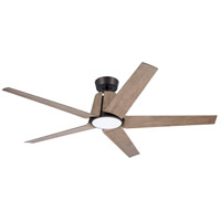 Emerson CF840ORB Floret 60 inch Oil Rubbed Bronze with Aged Oak Blades Indoor/Outdoor Ceiling Fan
