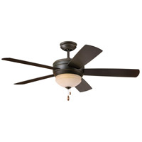 Summerhaven 52 inch Golden Espresso Indoor-Outdoor Ceiling Fan