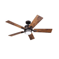 Emerson CF880LORB Amhurst 54 inch Oil Rubbed Bronze with Coffee/Farmhouse Blades Indoor Ceiling Fan
