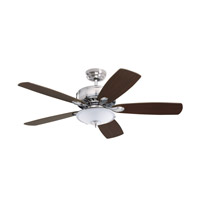 Emerson Low Profile 3 Light Fan Light Kit in Brushed Steel LK53BS