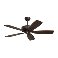 Prima 52 inch Oil Rubbed Bronze with Dark Cherry/Walnut Blades Ceiling Fan