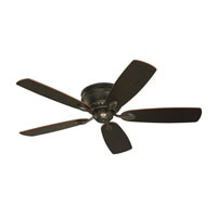Emerson Fans 52in Prima Snugger Ceiling Fan in Golden Espresso with Dark Cherry/Chocolate Blades CF905GES