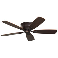 Emerson Fans 52in Prima Snugger Ceiling Fan in Oil Rubbed Bronze with Dark Cherry/Walnut Blades CF905ORB photo thumbnail