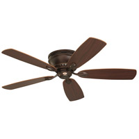 Emerson Fans 52in Prima Snugger Ceiling Fan in Venetian Bronze with Dark Cherry/Walnut Blades CF905VNB