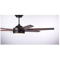 Emerson CF915W60ORB Rah Eco 60 inch Oil Rubbed Bronze with Sunburst Walnut Blades Indoor Ceiling Fan
