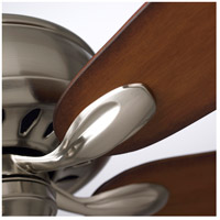 Emerson CF921BS Avant Eco 72 inch Brushed Steel Ceiling Fan, Blades Sold Separately