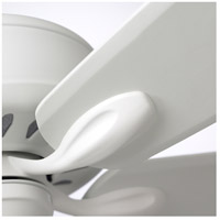 Emerson CF921SW Avant Eco 72 inch Satin White Ceiling Fan, Blades Sold Separately