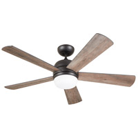 Emerson CF930LGRT Atomical 52 inch Graphite with Aged Cedar/Charcoal Blades Indoor Ceiling Fan