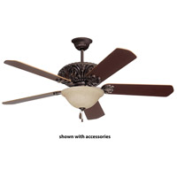 Emerson Amber Mist 3 Light Fan Glass in Oil Rubbed Bronze LK70ORB