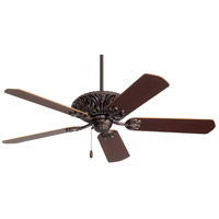 Emerson Fans Zurich Ceiling Fan in Oil Rubbed Bronze with Medium Oak/Dark Cherry Blades CF935ORB