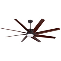Aira Eco 72 inch Oil Rubbed Bronze with All-Weather Walnut Blades Ceiling Fan