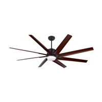 Aira Eco 72 inch Oil Rubbed Bronze with Walnut Blades Ceiling Fan