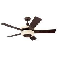 Emerson CF995VNB Laclede Eco 62 inch Venetian Bronze with Dark Mahogany/Walnut Blades Ceiling Fan in Vintage Cream